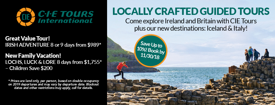 CIE Tours, Locally Crafted Guided Tours