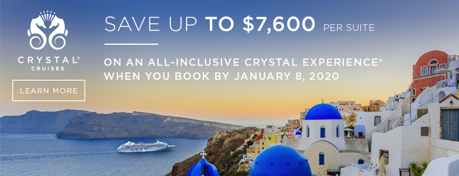 Crystal | Save Up To $7,600 per Suite