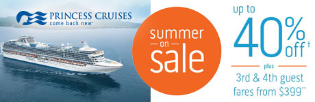 Princess: Summer on Sale, Up to 40% Off!