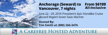 Hosted Adventure: Anchorage (Seward) to Vancouver