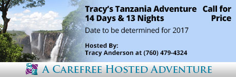 Hosted Adventure: Tracy's Tanzania Adventure