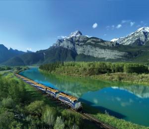 Rocky Mountaineer luxury train ride