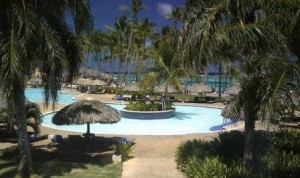 Main Pool at Club Med Punta Cana