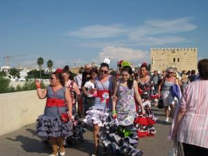 Local women of Cordoba, Spain