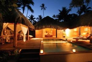 Taha'a Polynesian Island