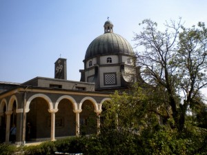 Church of the Beatitudes on Mount Olives