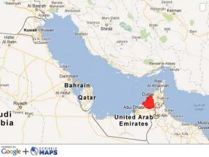Dubai–Southeastern Persian Gulf