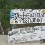 A sign we saw as we stopped on Union Island