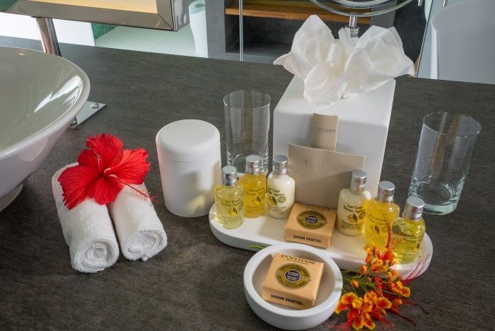 Zen Oasis - room - L'occitane amenities