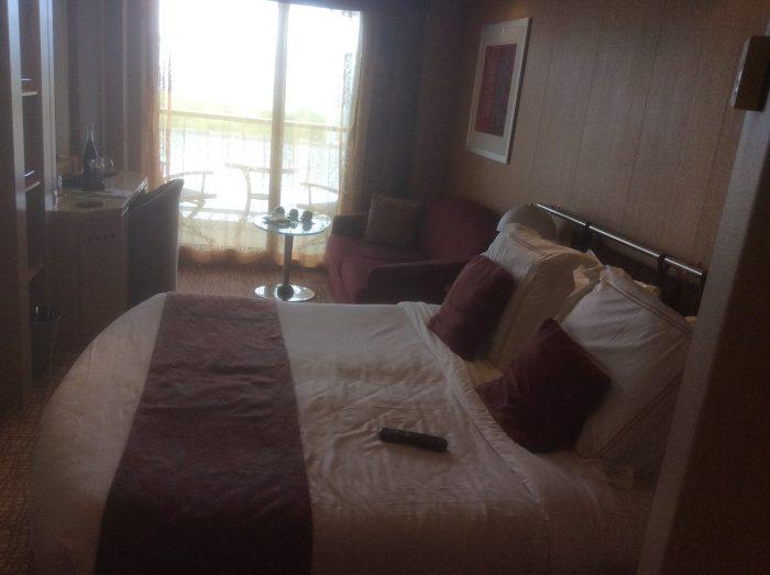 My concierge class verandah stateroom