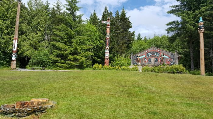 Totems at Ketchikan