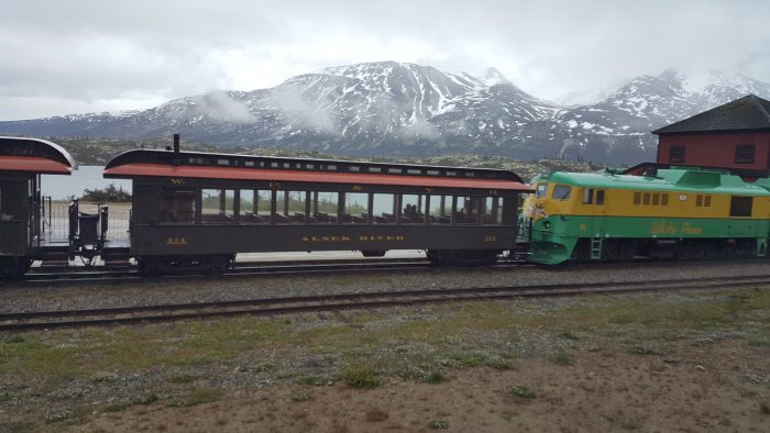 Whitepass train excursion, Skagway